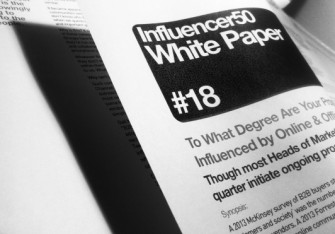 WP#18: To what degree are your prospects & customers influenced by online & offline communities?