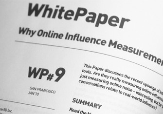 WP#9: Why Online Influence Measurement is Misleading