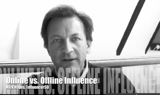 5: Online vs Offline Influence